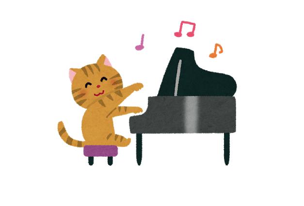 土曜日のピアノ♪